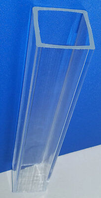 1 14 Od X 1 Id Square Clear Acrylic Plexiglass Lucite Tube 24 Inch Long 1.25