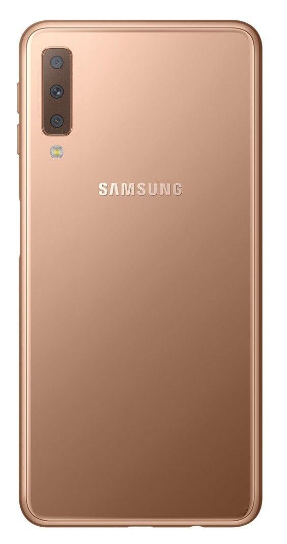 """Samsung Galaxy A7 2018 128GB SM-A750GN/DS Dual Sim (FACTORY UNLOCKED) 6.0"""""""