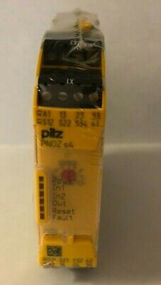 New Pilz Pnoz S4 750134 Safety Relay 3pst-no 240vac 6a