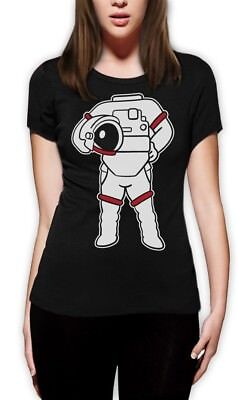 Astronaut Easy Costume - Funny Space Suit Print Women T-Shirt Gift Idea - Friend Costumes Ideas
