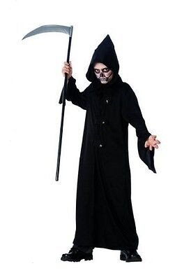 Child Halloween SKULL REAPER Costume Boys M/L (8-14) - Skull Reaper Kostüm