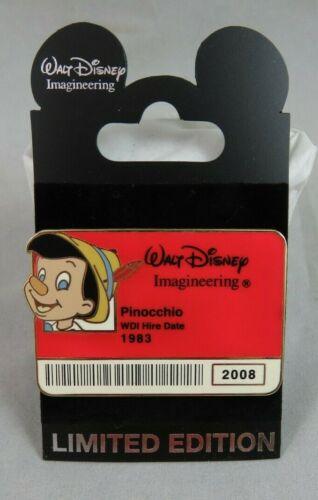 Disney WDI Pin - Cast ID Badge Series 2 - Pinocchio