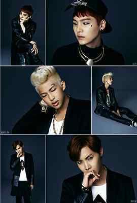 BTS-[DARK & WILD]1st Album CD+120p PhotoBook+PhotoCard+Store Gift+Tracking K-POP
