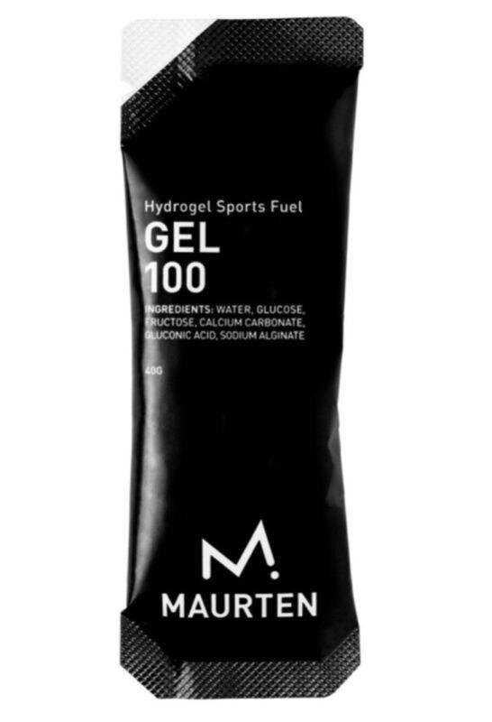 Maurten 100 hydrogel sports fuel 40 G Pack. Sold In Packs Of 12 Each