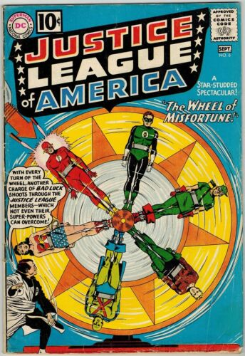 Justice League of America 6 (1961) VG+