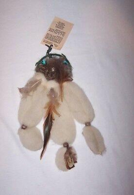 Vtg Handmade Mandella Dream Catcher The Silver Bird People NM Native American