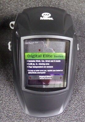 New Miller Electric Digital Elite Series Welding Helmet 3.82 X 2.4 281000m
