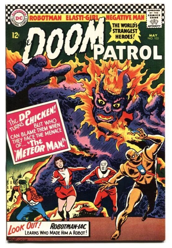Doom Patrol #103 comic book DC 1965 HIGH GRADE VF+