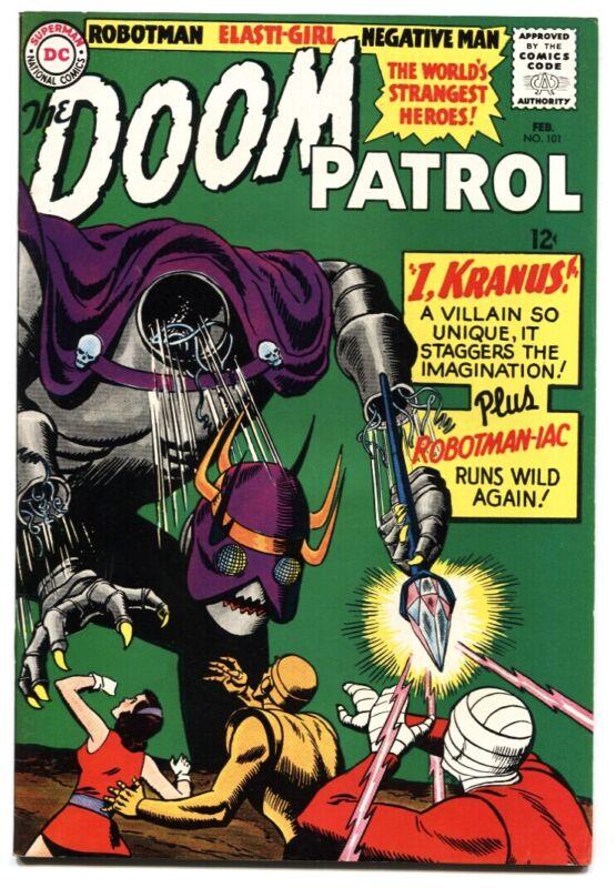 Doom Patrol #101 comic book DC 1965 HIGH GRADE VF/NM
