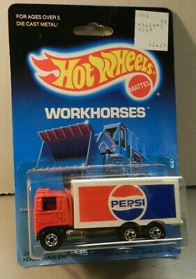 Hot Wheels Workhorses Hiway Hauler - Pepsi - long logo