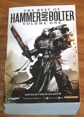 WARHAMMER 40,000 The Best Of Hammer And Bolter volume#1 CHRISTIAN DUNN 40K One (Best Military Sci Fi)
