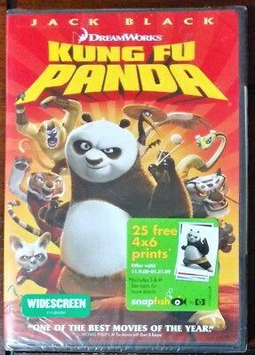 Kung Fu Panda  Dvd  2008 Widescreen  Jack Black Dreamworks Animated Snapfish
