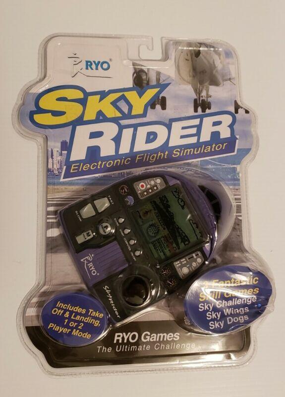 RYO SKY RIDER ELECTRONIC FLIGHT SIMULATOR HANDHELD GAME.  BRAND NEW!!!