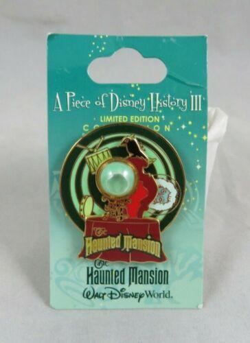 Walt Disney World Pin - Piece of Disney History III The Haunted Mansion Spinner
