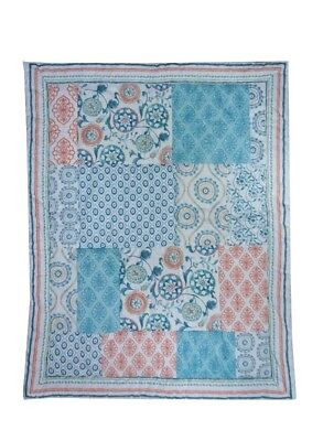 Medallion  Baby Crib Comforter Rare - See Details  for sale  Shipping to India