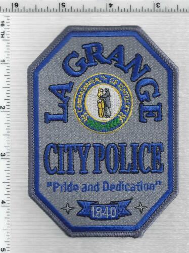 La Grange Police (Kentucky) 3rd Issue Shoulder Patch