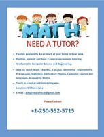 Need A Tutor for study assist in school, college or uni course??