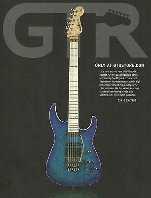 Def Leppard Phil Collen Signature Jackson PC-1 guitar ad 8 x 11 advertisement for sale  Shipping to Canada