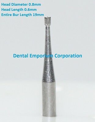 Dental Carbide Burs Fg 34 Inverted Cone For High Speed Hp 10 Per Package
