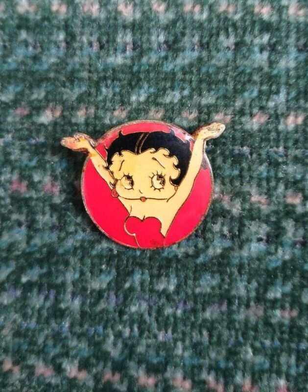 Vintage Betty Boop Pin - Classic Pose