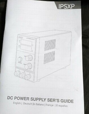 Variable Dc Power Supply Ipsxp Kps1203d Adjustable Switching Regulated Power...