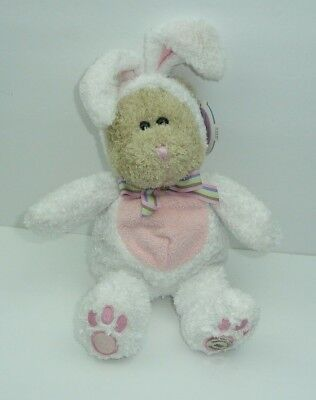 Easter Bunny Outfit Bear - Starbucks Bearista Plush Stuffed Animal 2003 Holiday (Starbucks Outfit)