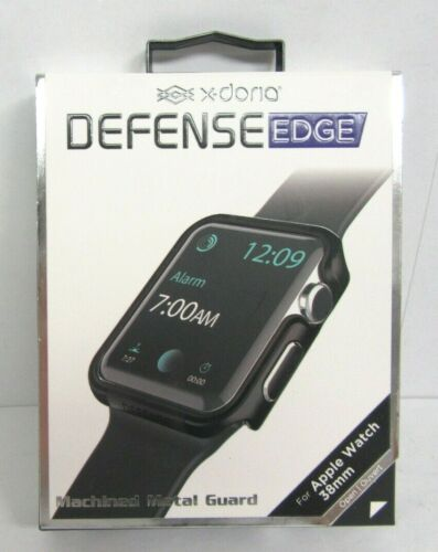X-Doria - Defense Edge Case for 38mm Apple Watch - Black
