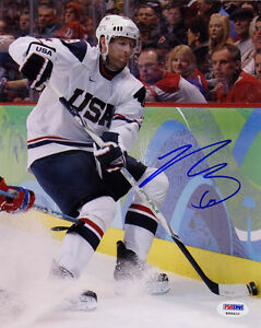 Ryan-Whitney-SIGNED-8x10-Photo-Team-USA-PSA-DNA-AUTOGRAPHED