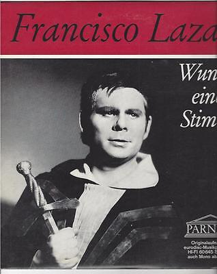Francisco Lazarao - Wunder einer Stimme - mit Manfred Röhrl : Parnass LP