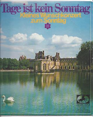 Kleines Wunschkonzert zum Sonntag : Fritz Wunderlich  Herbert Rehbein