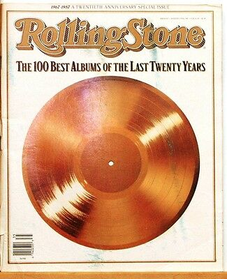 Classic 1987 Rolling Stone Magazine/#507/100 Best Albums of all