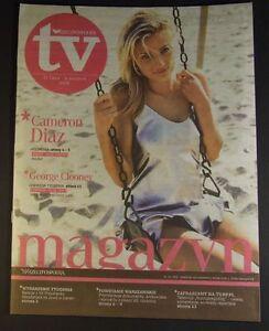 CAMERON DIAZ mag.FRONT cover 31/2009 George Clooney,David Strathairn - <span itemprop=availableAtOrFrom>europe, Polska</span> - Zwroty są przyjmowane - europe, Polska