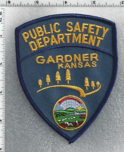 Gardner Public Safety Department (Kansas) 2nd Issue Shoulder Patch