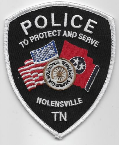 Nolenville Police State Tennessee TN NEW NEAT