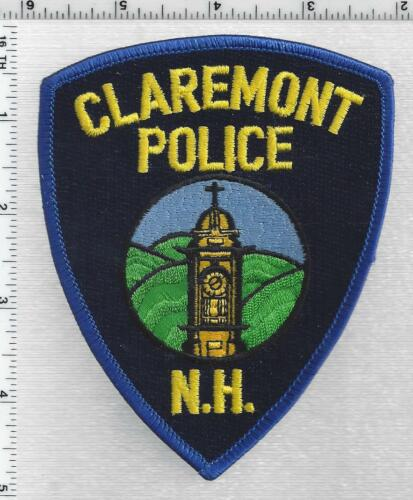 Claremont Police (New Hampshire) 3rd Issue Shoulder Patch