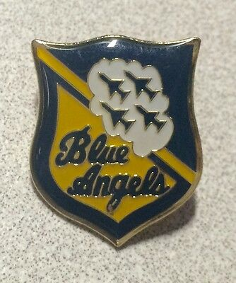 BLUE ANGELS ~ Souvenir Lapel Hat Pin ~ Military Airplanes Jets