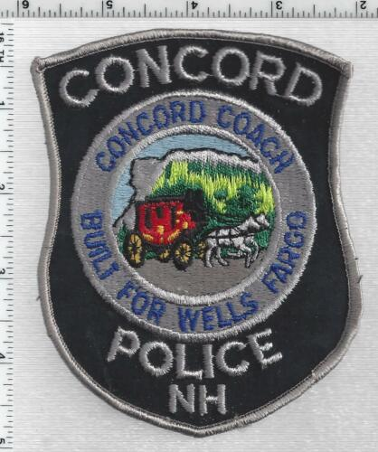 Concord Police (New Hampshire) 7th Issue Shoulder Patch
