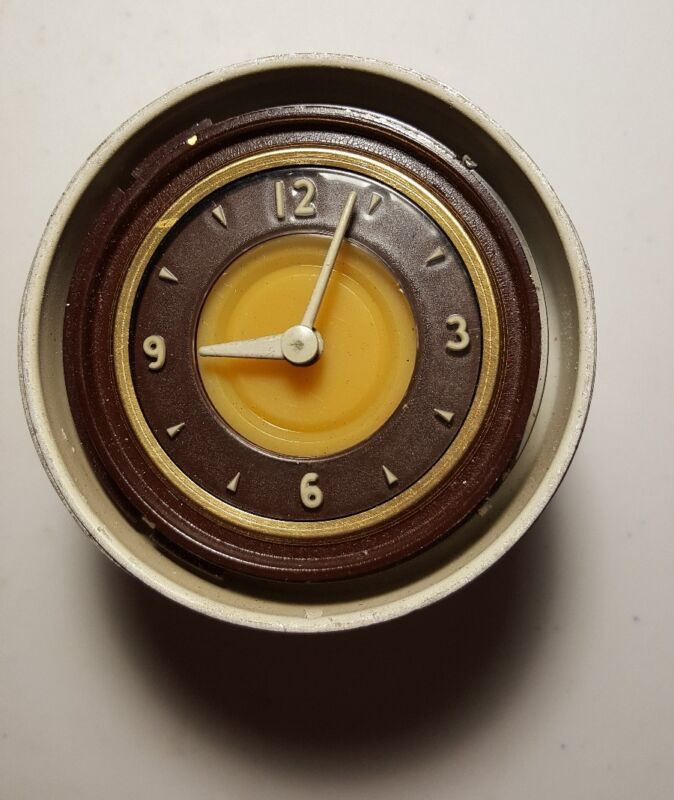 "1941 LINCOLN CONTINENTAL ORIGINAL DASHBOARD CLOCK ""WORKS""!"