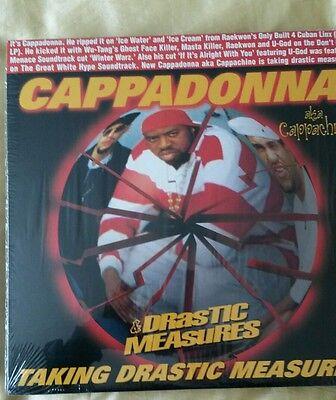 "Cappadonna taking drastic measures 12"""