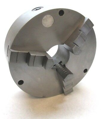 Burnerd 10-34 Three-jaw Lathe Chuck W Plain Back Mount - Na54