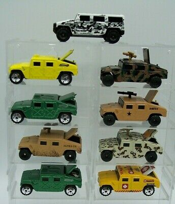 "9Z ""MATCHBOX"" MILITARY HUMVEE HUMMER H2 DIFFERENT VARIATIONS Near MINT"