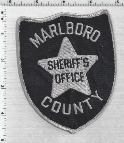 Marlboro County Sheriff(South Carolina) 2nd Issue Subdued Take-Off Patch