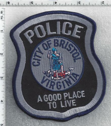 City of Bristol Police  (Virginia) 2nd Issue Shoulder Patch