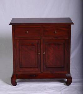 Cute Asian design dark jarrah stained cabinet,DELIVERY AVAILABLE Oakford Serpentine Area Preview