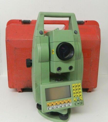 Leica TCRA1101 Plus Surveying Total Station w/ Case