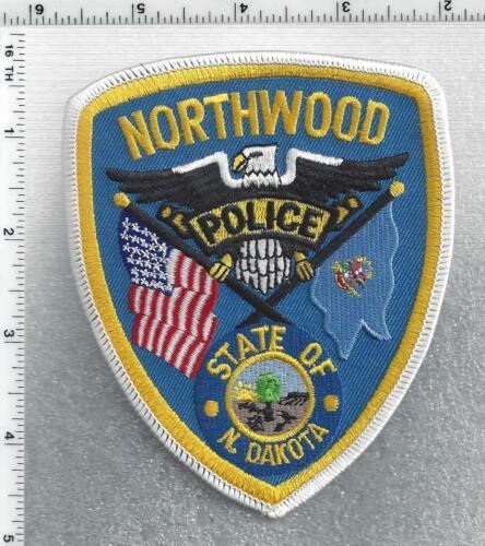 Northwood Police (North Dakota) 2nd Issue Shoulder Patch