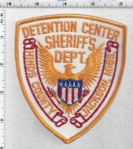 Hinds County Sheriff Detention (Mississippi) 3rd Issue Shoulder Patch