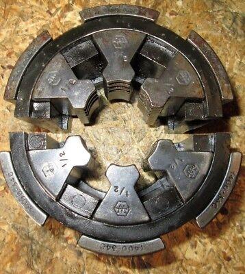 Weatherhead Hydraulic Hose Crimper Die Set T400-34c 12 Collet Set