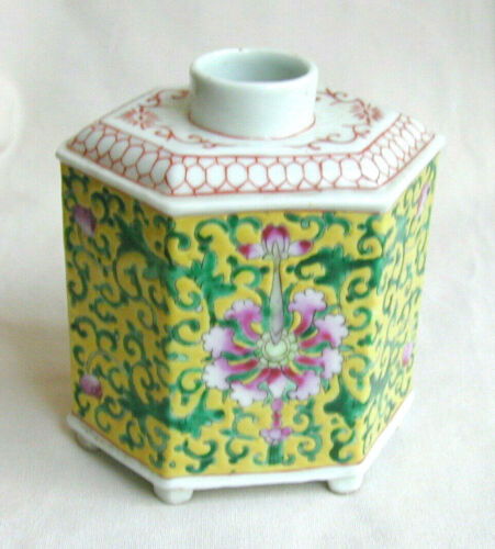Vintage/Antique Chinese Ha Cha Gong Si Export Tea Caddy - Republic Period