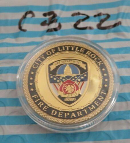 CITY OF LITTLE ROCK FIRE DEPARTMEMT CHALLENGE COIN C322